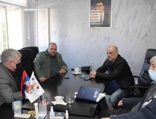 """Održan radni sastanak rukovodstva opštine Mali Zvornik i direktora preduzeća """"Srbijašume"""""""