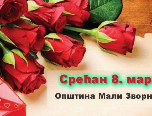 Председник општине Мали Зворник честитао 8. март свим дамама